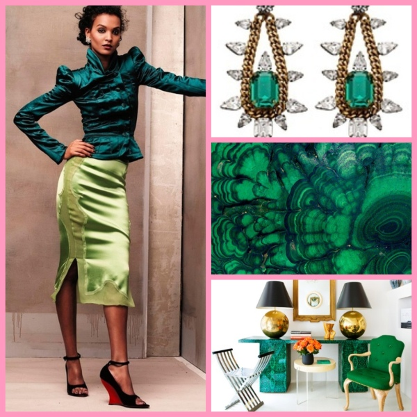 2013 Emerald Green, Pantone's Color of the Year