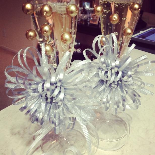 Twinship Champagne Glasses!