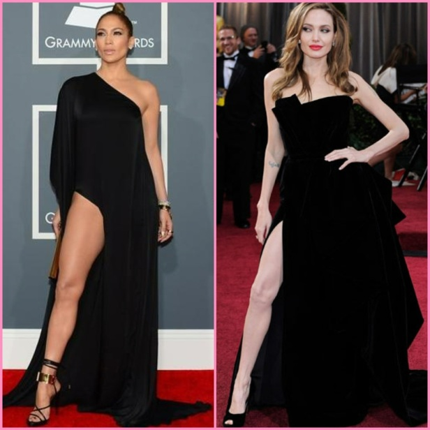 Jennifer Lopez Twinship with Angelina Jolie