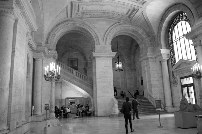 New York City  Public Library by Gravity Pull