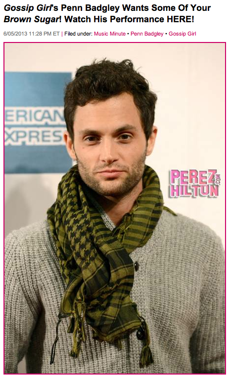 Perez Hilton Shows Penn Badgley & The Twinship L.O.V.E.