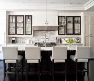 black & white interiors | kitchen