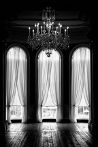 black & white interiors | window