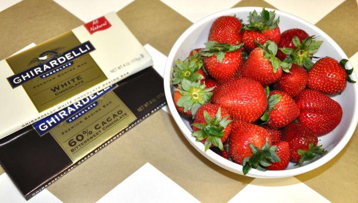 Twinship Chocolate Strawberries