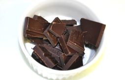 Step Three: In a microwave-safe bowl melt chocolate for 40-60 seconds (repeat the same method for white chocolate, too!)