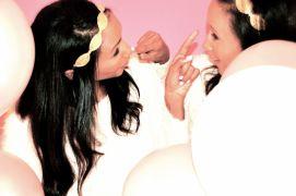 Feven (L), Helena (R) Twinship Birthday