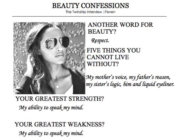 Feven's Beauty Confession 1