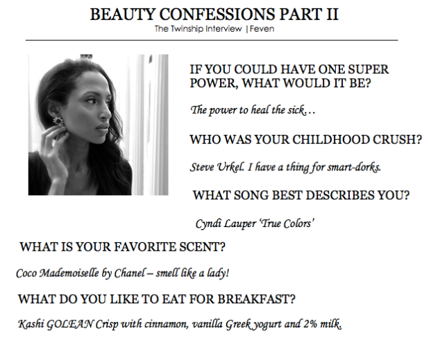 Feven's Beauty Confessions