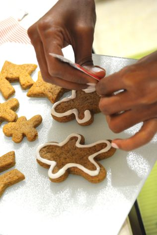 Twinship gingerbread men!